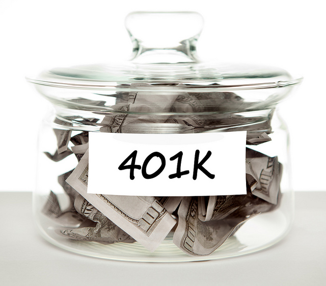 401k jar of money
